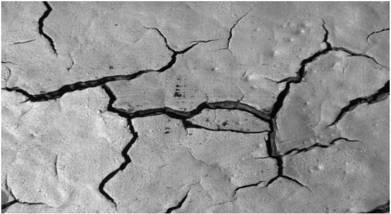 Cracks in a Roof