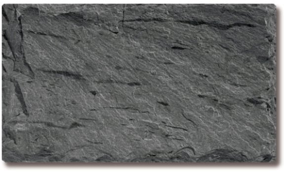 Mottled gray black slate