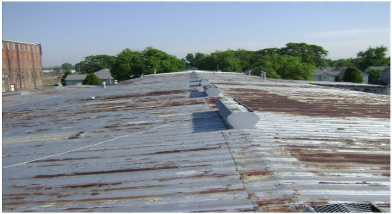 Rust on Roof