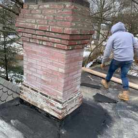 Re-Pointing Chimney