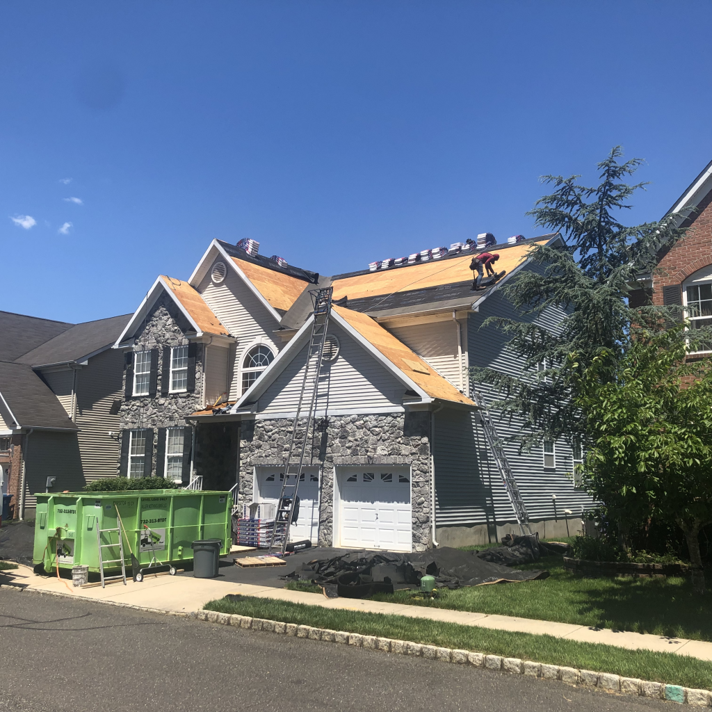 New Roof in Monroe Township